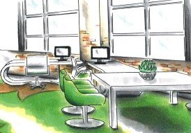 Beroepsopleiding Interieurdesign/ Binnenhuisarchitectuur
